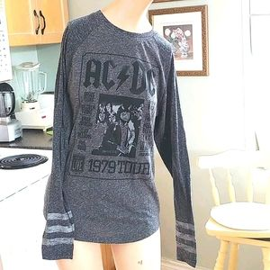 AC/DC official, graphic Tee 1979 Tour